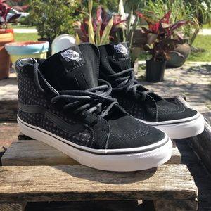 Vans Sk8 High top Off the wall Sneakers